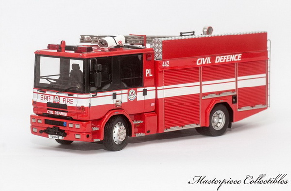 Модель 1:43 Dennis Sabre Pump Ladder: Singapore Fire Service