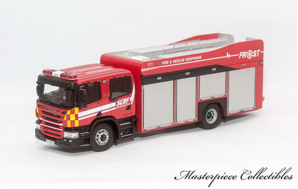 Модель 1:43 Scania Fire & Rescue Operation Support Truck (FROST): Singapore Fire Service