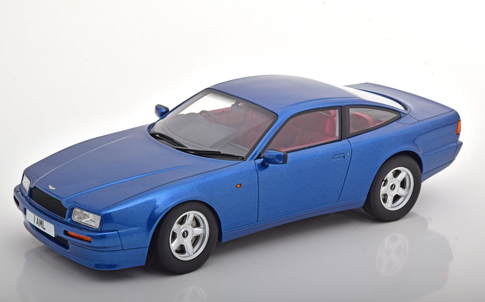Модель 1:18 Aston Martin Virage - blue met