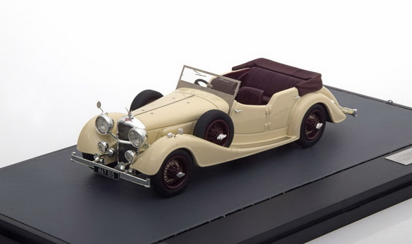 Модель 1:43 Alvis 4.3 Litre Cross & Ellis Tourer 1938 Beige