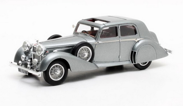 Модель 1:43 Alvis 4.3 l Saloon Cross & Ellis Charlesworth 1938 Metallic Grey