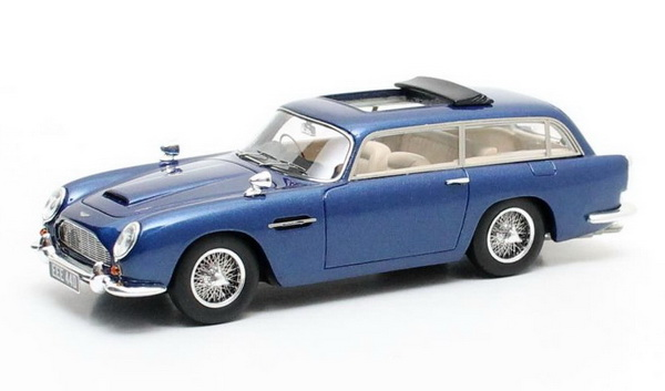 Модель 1:43 Aston Martin DB5 Shooting Brake Harold Radford - blue met