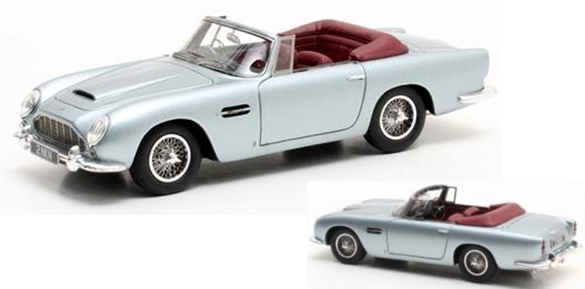 Модель 1:43 Asston Martin DB5 Cabrio - light blue met