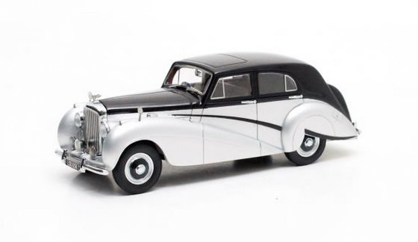 Модель 1:43 Bentley Mk VI Countryman Harold Radford - black/silver