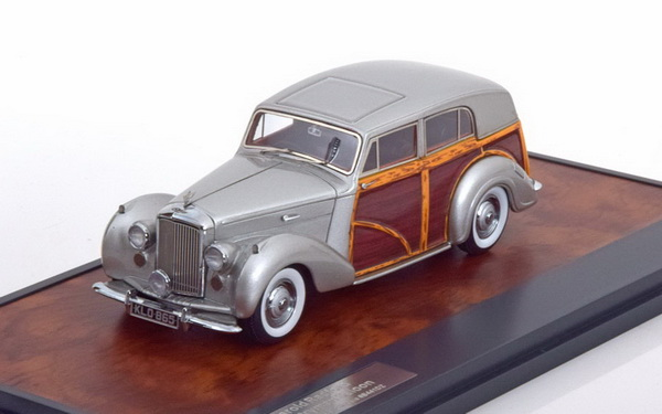 Модель 1:43 Bentley Mk VI Countryman Harold Radford - silver/wood