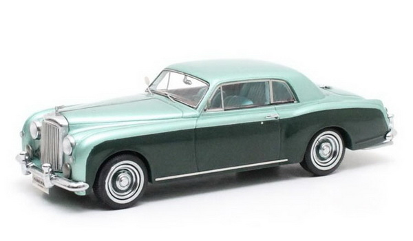 Модель 1:43 Bentley SI Continental Park Ward David Niven - light green met/green