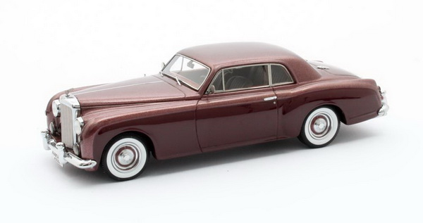 Модель 1:43 BENTLEY S1 Continental Park Ward FHC #BC-16-LAF ex Jack Warner 1956 Brown/Maroon
