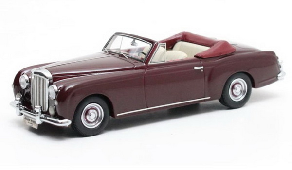 Модель 1:43 Bentley SI Continental Park Ward DHC - dark red