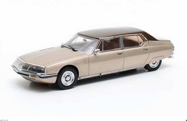 Модель 1:43 Citroen SM Le Opera by Chapron - gold