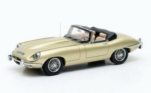 Модель 1:43 Jaguar E-Type SII Roadster - gold met