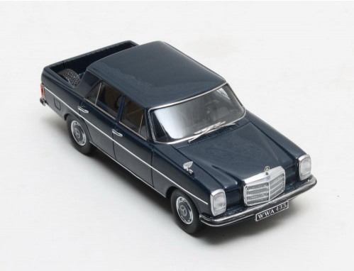 Модель 1:43 Mercedes-Benz W115 BINZ Pickup Double Cabin - blue
