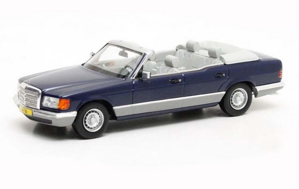 Модель 1:43 Mercedes-Benz 380SEL Caruna (W126) HRH Prinses Juliana - blue