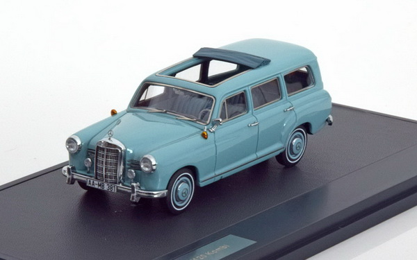 Модель 1:43 Mercedes-Benz 180B (W120) «Binz» Kombi - light green