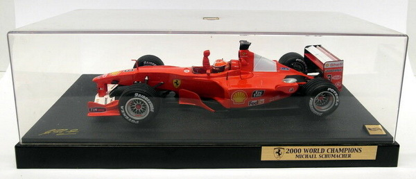 Модель 1:18 Ferrari F1-2000 GP Suzuka, World Champion 2000 Schumacher