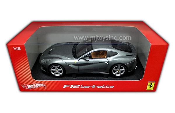 Модель 1:18 Ferrari F12 Berlinetta - gray