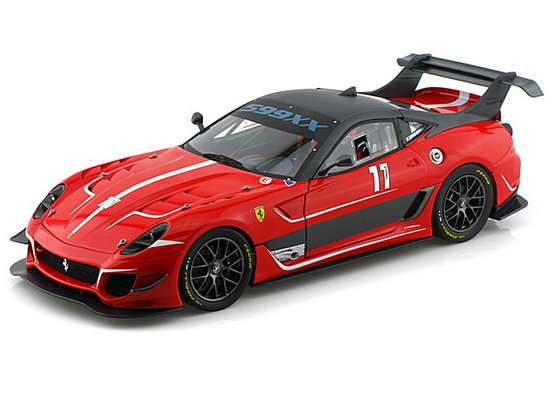 Модель 1:18 Ferrari 599XX Evo №11- red