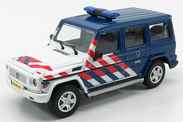 Модель 1:43 MERCEDES BENZ - G-CLASS MILITARY NETHERLAND POLICE 2015
