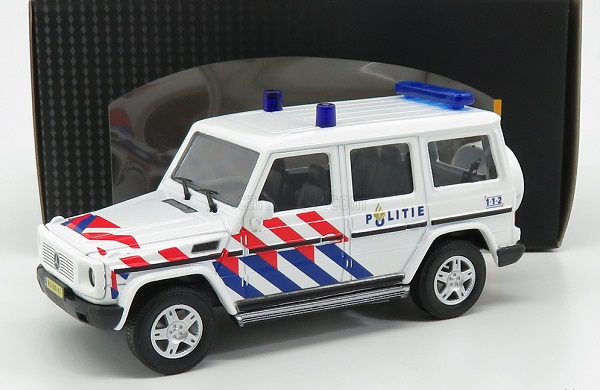 Модель 1:43 MERCEDES BENZ - G-CLASS CIVIL NETHERLAND POLICE 2015
