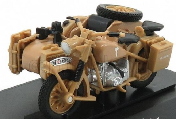 Модель 1:43 BMW - R75 AFRIKA KORPS WITH SIDECAR 1941