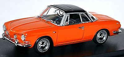 Модель 1:43 Volkswagen Karmann Ghia Coupe Typ 34 - orange/black