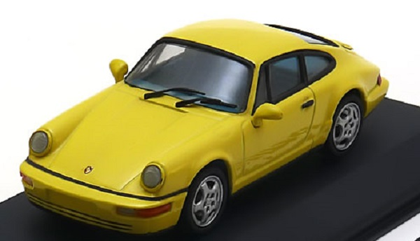 Модель 1:43 Porsche 911 (964) Carrera 2/4 Coupe - yellow