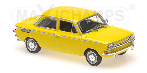 Модель 1:43 NSU TT - 1967 - YELLOW