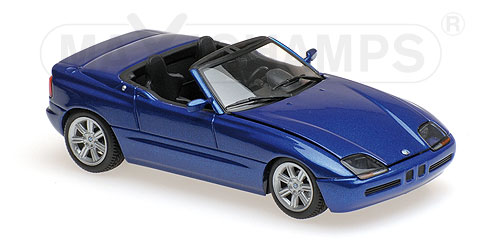 Модель 1:43 BMW Z1 (E30) - 1991 - BLUE METALLIC