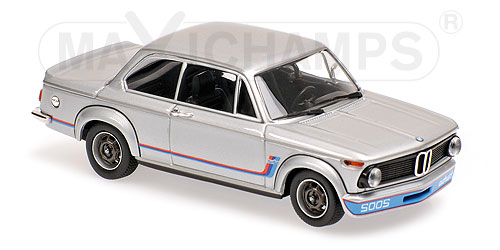 Модель 1:43 BMW 2002 Turbo - silver