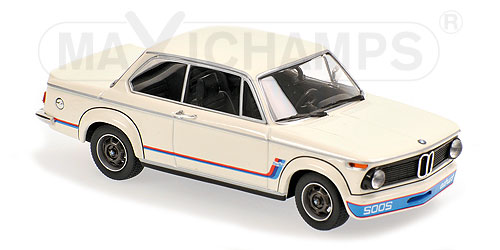 Модель 1:43 BMW 2002 Turbo - white