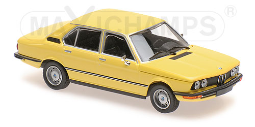 Модель 1:43 BMW 520 (E12) - yellow