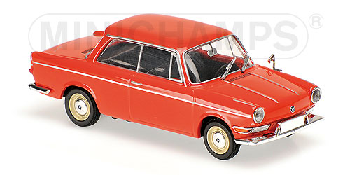Модель 1:43 BMW 700 LS - red