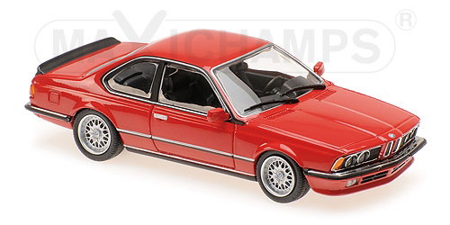 Модель 1:43 BMW 635 CSI (E24) - 1982 - RED