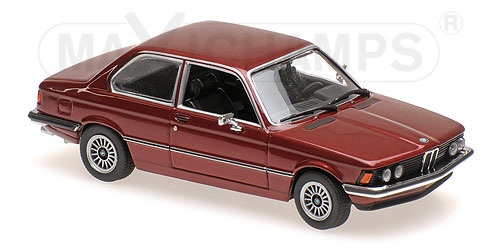 Модель 1:43 BMW 323I - 1975 - GREEN METALLIC