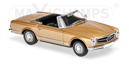Модель 1:43 Mercedes-Benz 230 SL - gold met