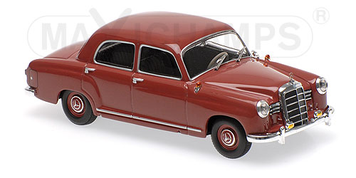 Модель 1:43 Mercedes-Benz 180 (W120) - 1955 - DARK RED