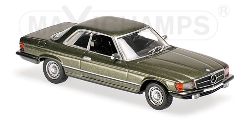 Модель 1:43 Mercedes-Benz 450 SLC (R107) - dark green met