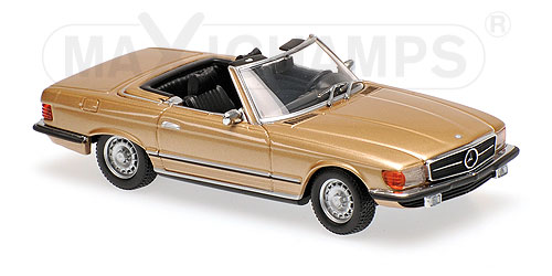 Модель 1:43 Mercedes 350 SL (R107) - 1974 - GOLD