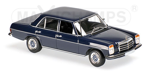 Модель 1:43 Mercedes-Benz 200D (W114/115) - 1973 - BLUE