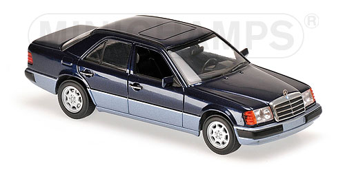 Модель 1:43 Mercedes-Benz 230 E - blue met