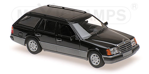 Модель 1:43 Mercedes-Benz 300 TE (S124) - black