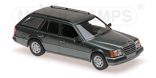 Модель 1:43 Mercedes-Benz 300 TE (S124) - green met