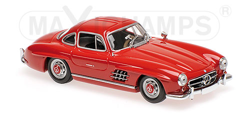 Модель 1:43 Mercedes 300 SL (W198 I) - 1955 - DARK RED