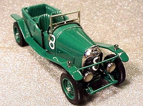 Модель 1:43 Bentley 3.0 Litre №8 Le Mans KIT