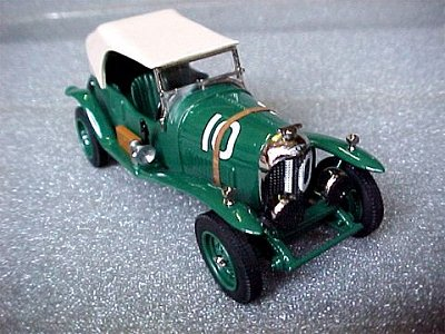Модель 1:43 Bentley 3.0 Litre №10 Le Mans KIT