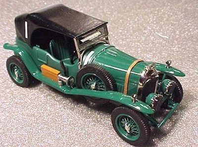 Модель 1:43 Bentley 3.0 Litre Le Mans KIT