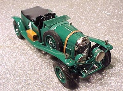 Модель 1:43 Bentley 4.5 Litre №4 Le Mans KIT