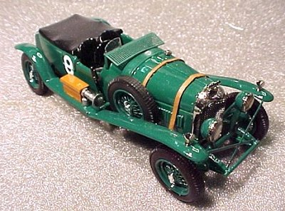 Модель 1:43 Bentley 4.5 Litre Le Mans KIT