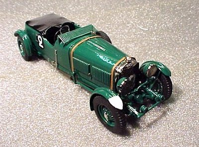 Модель 1:43 Bentley 6.5 Litre №2 Le Mans KIT