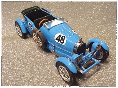 Модель 1:43 Bugatti T 43 Tourist Trophy №49 KIT