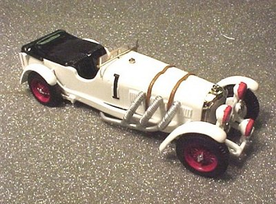 Модель 1:43 Mercedes-Benz SS №1 Le Mans KIT